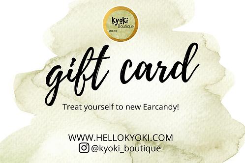 Kyoki Gift Card