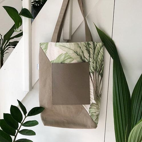 Tote Bag Jungle Sand