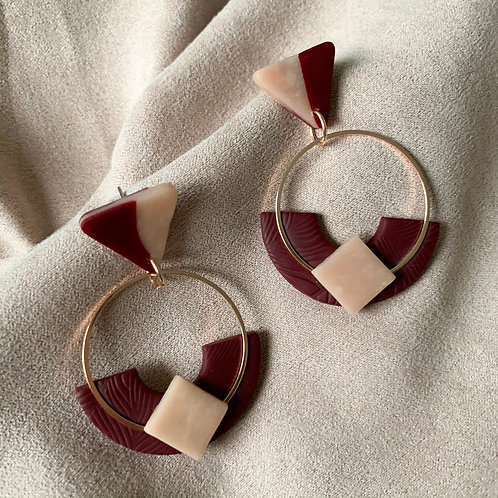 Geo Red Red Wine KyokiHoops
