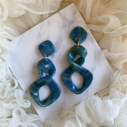 Kyoki Swirl - Blue Green