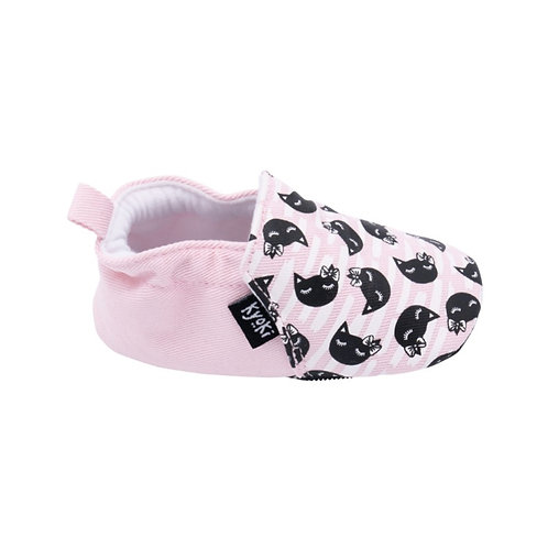 The One With The Cats with a Bow and Anti-Slip Rubber Soles