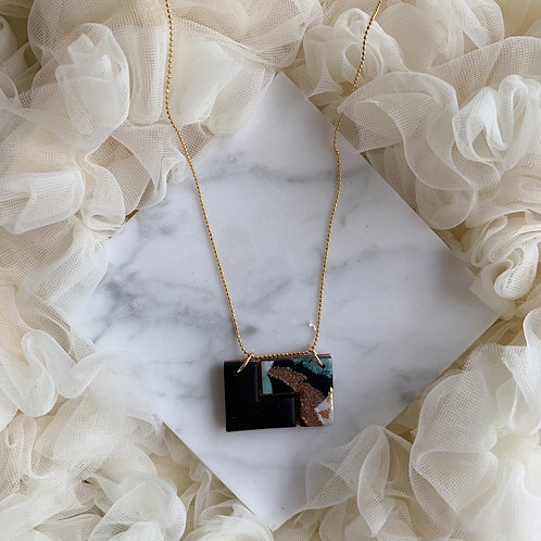 Kyoki goldplated Necklace // Aerin