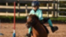 Pony-games, enfant, cavalier, shetland