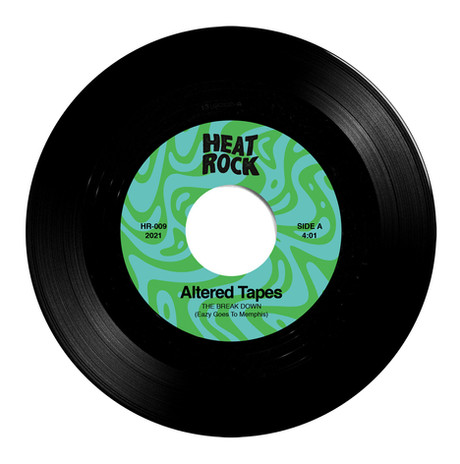 heat rock records altered tapes break down 45rpm