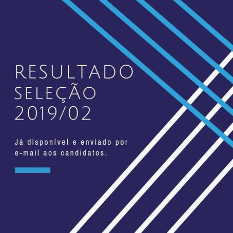 APROVADOS SELEÇÃO DTI UFMG 2019/2