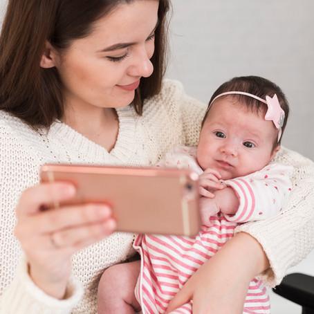 SHARETING - O excesso de publicações em redes sociais de crianças pelos pais