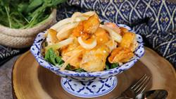 Crispy Chicken with Spicy Cream Sauce (4)