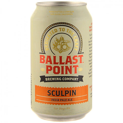 BALLAST POINT SCULPIN IPA CANS