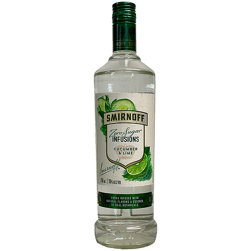 SMIRNOFF CUCUMBER LIME VODKA