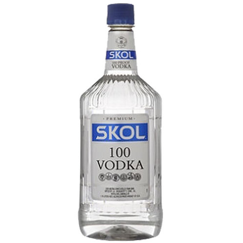 SKOL 100 VODKA TRAVELER