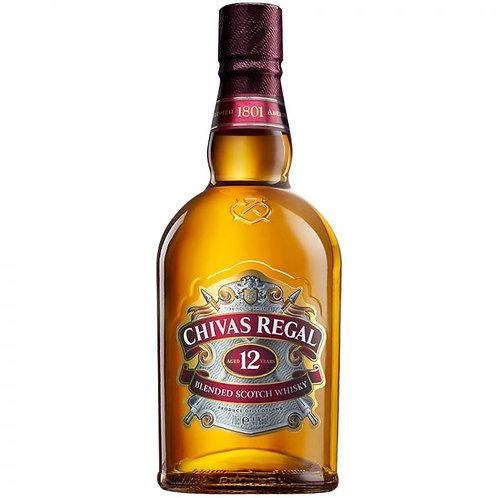 CHIVAS 12 YR SCOTCH