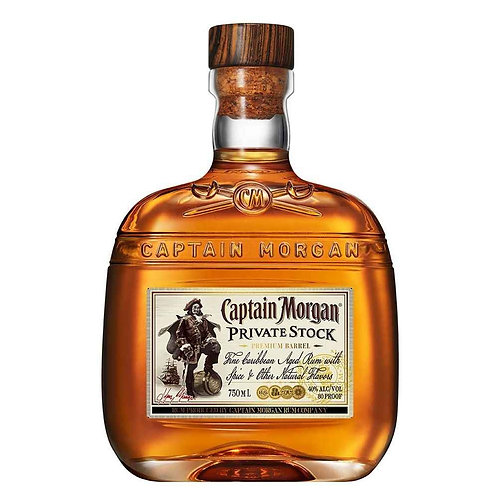 CAPTAIN MORGAN PRIVATE STOCK RUM
