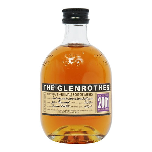 GLENROTHES SINGLE MALT 2001