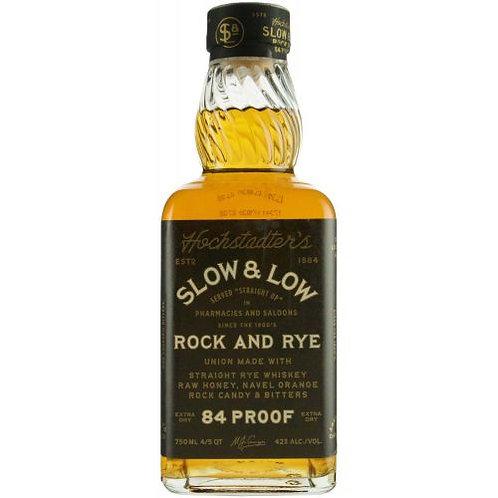 SLOW & LOW ROCK & RYE