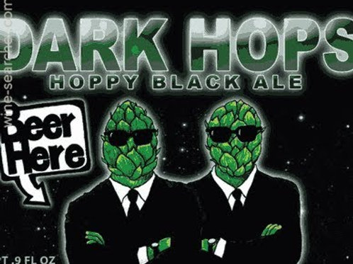BEER HERE DARK HOPS HOPPY BLACK ALE