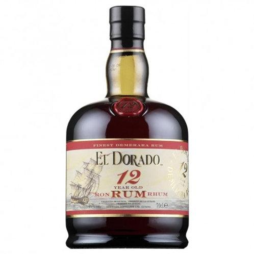EL DORADO 12 YR RUM GIFT SET