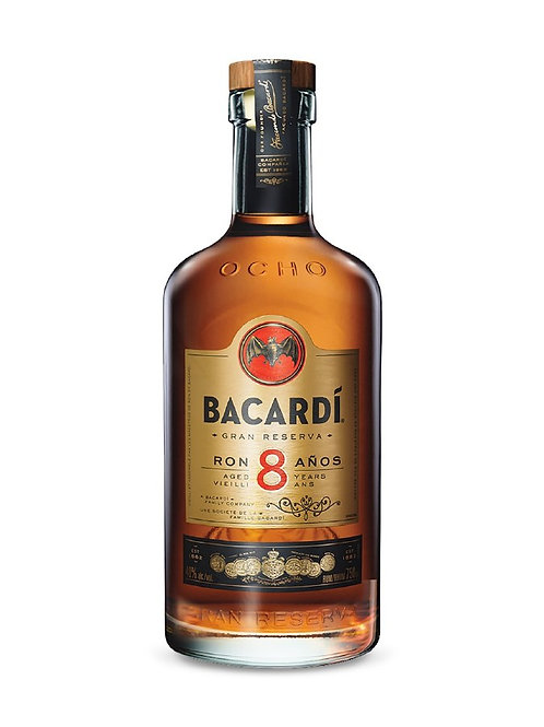 BACARDI 8 YR GRAN RESERVE