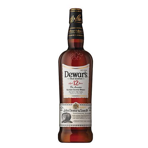 DEWARS 12 YR SCOTCH