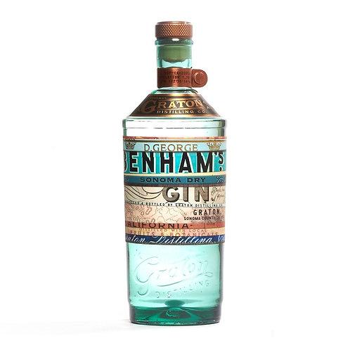 BENHAM'S SONOMA DRY GIN
