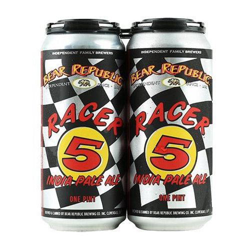 BEAR REPUBLIC RACER 5 IPA CANS