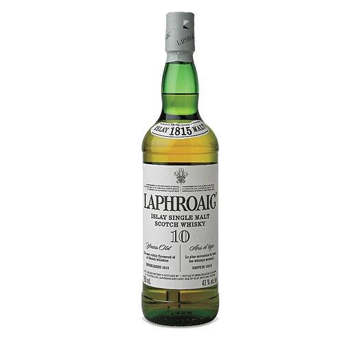 LAPHROAIG 10 YR SCOTCH