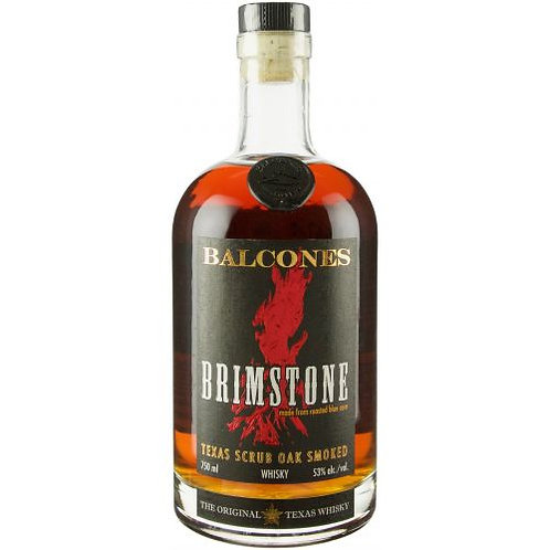 BALCONES BRIMSTONE TEXAS SCRUB OAK SMOKED CORN WHISKEY