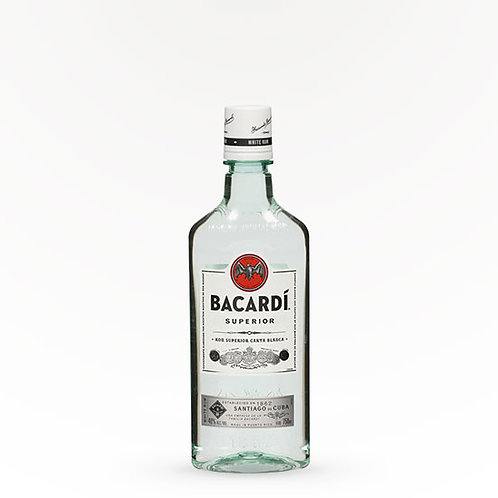 BACARDI LIGHT RUM - PET