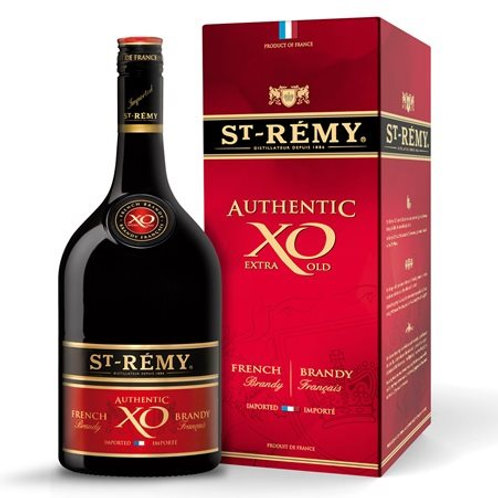 ST. REMY AUTHENTIC XO EXTRA OLD