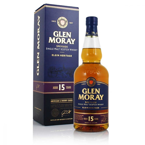 GLEN MORAY 15 YEAR