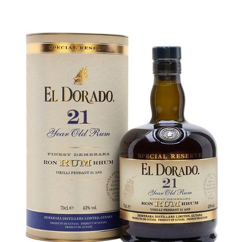 EL DORADO 21 YR RUM