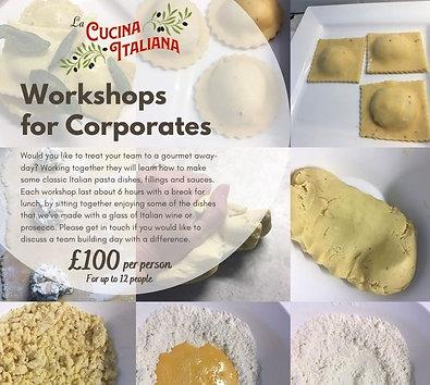 Corporate Workshops - Per head