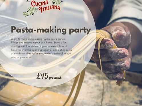 Pasta Making Party - per head