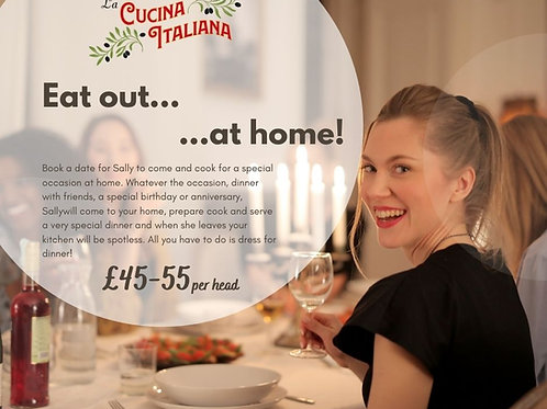 Private Dining Experience £45-£55 Per Head