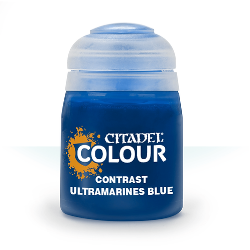 Ultramarines blue Contrast