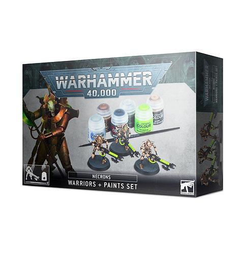 Warriors + Paints Set