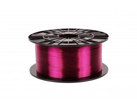 Filament 1,75 PETG - transparentní fialová 1 kg