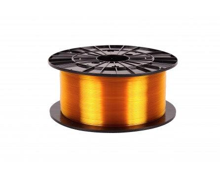 Filament 1,75 PETG - transparentní žlutá 1 kg