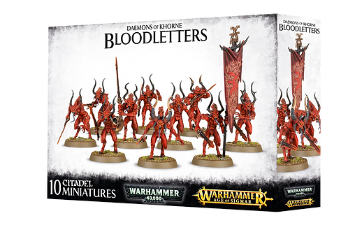 Daemons of Khorne - Bloodletters