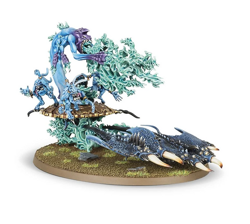 HERALD OF TZEENTCH ON BURNING CHARIOT / Exalted Flamer