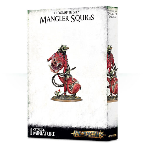 Mangler Squigs / Loonboss on Mangler Squigs
