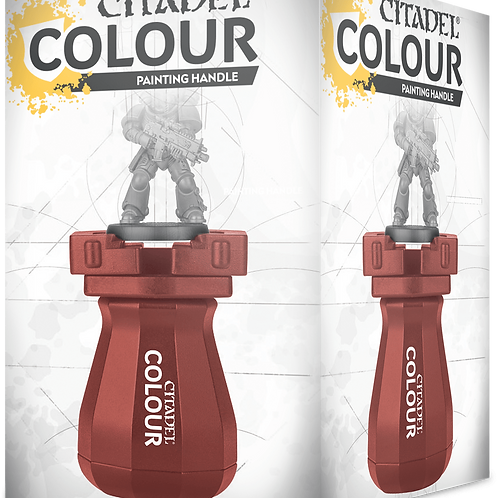 Colour Red Painting Handle
