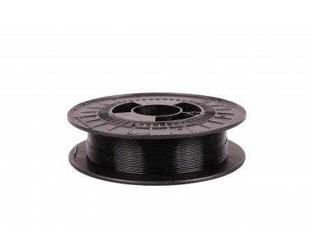 Filament 1,75 PETG - transparentní černá 0,5 kg