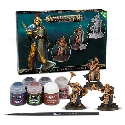 Stormcast Eternals + Paint Set