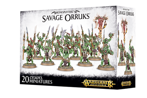 Savage Orruks / Savage Orruk Arrowboys / Morboys