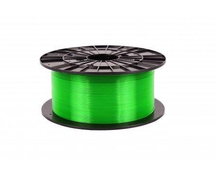 Filament 1,75 PETG - transparentní zelená 1 kg