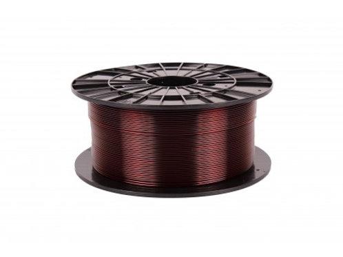 Filament 1,75 PETG - transparentní hnědá 1 kg