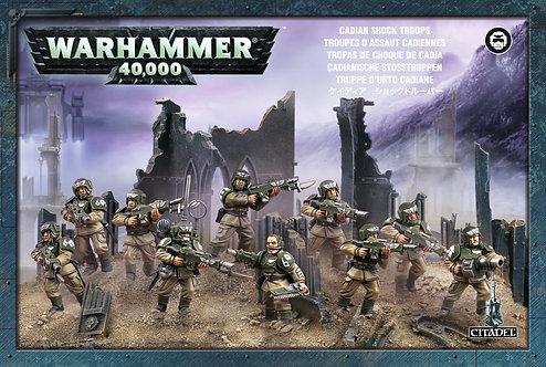 Militarum Cadian Infantry Squad