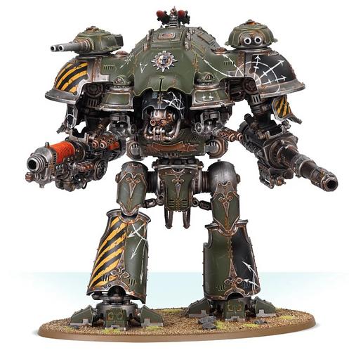Knight Tyrant with Plasma Decimator and Volcano Lance