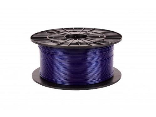 Filament 1,75 PETG - transparentní modrá 1 kg