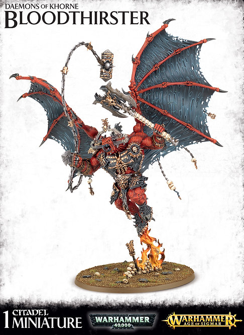 Daemons Of Khorne Bloodthirster / Skarbrand The Bloodthirster